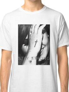 Demi Lovato Stay Strong Halftone Classic T-Shirt