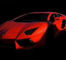 Lamborghini 'Only the Shadow Knows' by DaveKoontz