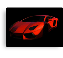 Lamborghini 'Only the Shadow Knows' Canvas Print