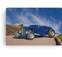 1930 Ford 'Hot Rod' Roadster Canvas Print