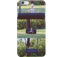 Barbie on the swing iPhone Case/Skin
