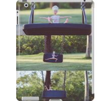 Barbie on the swing iPad Case/Skin