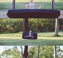Barbie on the swing by sgbphotos