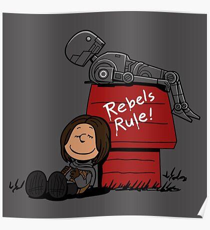 Rogue Peanuts Poster