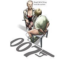 James Bond Parody Photographic Print