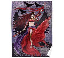 Celtic Goddess - The Morrigan Poster