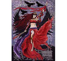 Celtic Goddess - The Morrigan Photographic Print