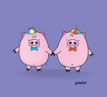 funny zodiac/gemini by mangulica