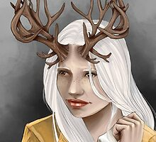 Antler Girl by Lily Mitchell
