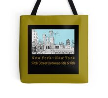 Greenwich Village Roofscape Tote Bag