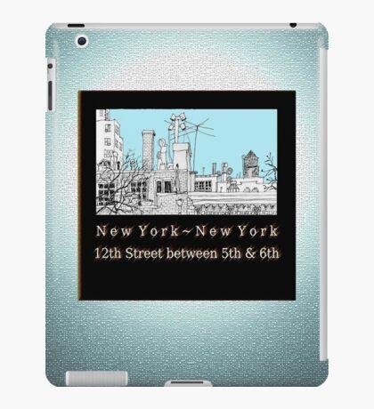 Greenwich Village Roofscape iPad Case/Skin
