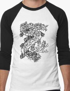 Fierce Firebreathing Dragon Men's Baseball ¾ T-Shirt