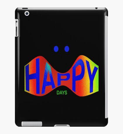 HAPPY DAYS iPad Case/Skin