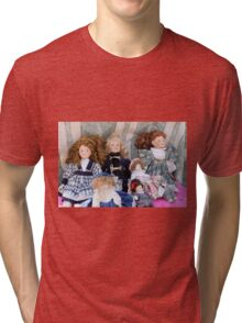 old dolls Tri-blend T-Shirt