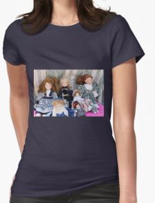 old dolls Womens Fitted T-Shirt