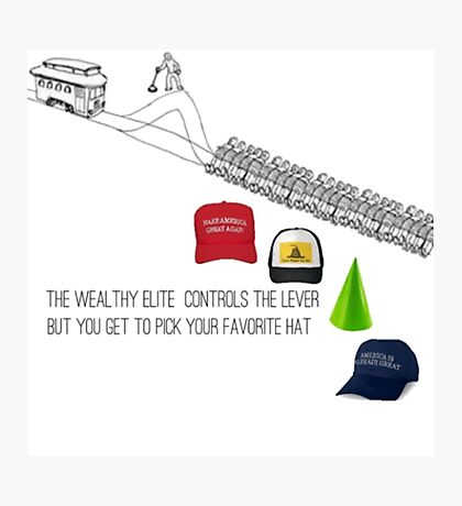 Political Trolley Photographic Print