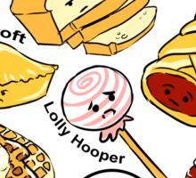 221b Bakery Street Sticker