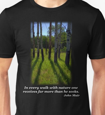 Aspen Shadows Unisex T-Shirt