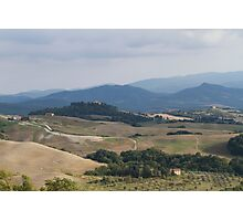 hilly landscape Photographic Print