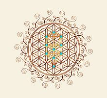 Flower of Life, Tree of Life, Kabbalah, Sephiroth by nitty-gritty