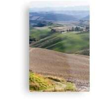 hilly landscape Metal Print