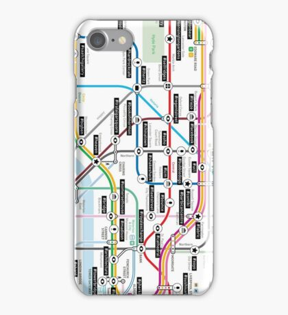 #tagsandthecity / London iPhone Case/Skin