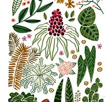 Some plants by Roxanne B.