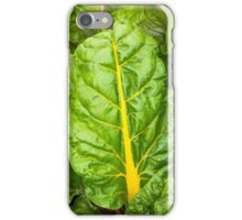 Colorful Swiss Chard iPhone Case/Skin