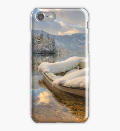 Lake Bohinj in Winter, Slovenia iPhone Case/Skin