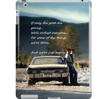 Bulletproof Supernatural iPad Case/Skin