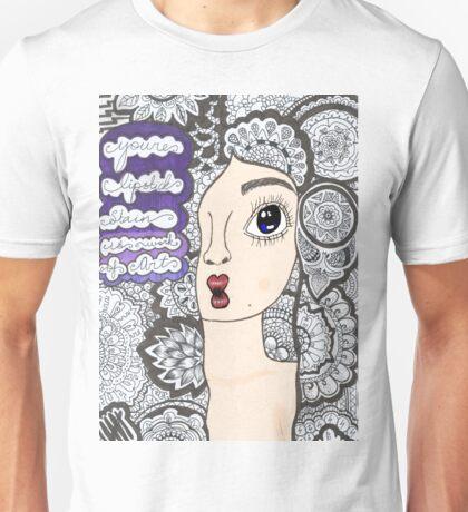 "5 sos zentangle ''she looks so perfect"" Unisex T-Shirt"