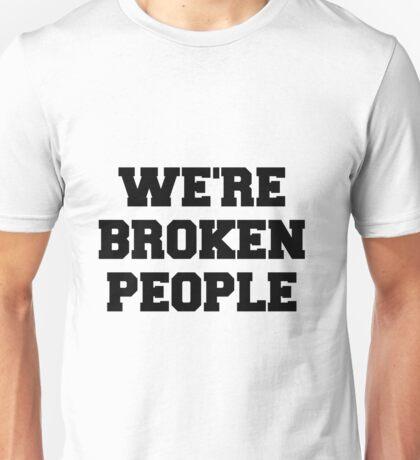 Twenty One Pilots We're Broken People Unisex T-Shirt