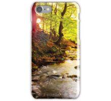 Sunrise River iPhone Case/Skin