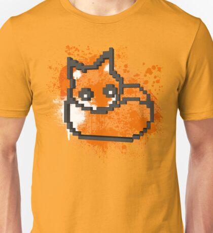 3D PIXEL - FOX Unisex T-Shirt