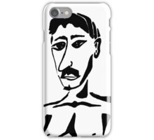 Portrait of Mustafa iPhone Case/Skin