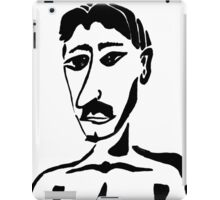 Portrait of Mustafa iPad Case/Skin