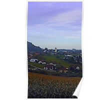 Peaceful countryside scenery | landscape photography Poster