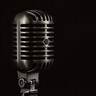 Vintage Microphone by Edward Fielding