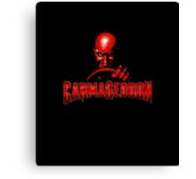 Carmageddon Canvas Print