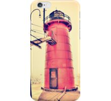 Lighthouse at South Haven iPhone Case/Skin