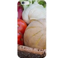 summer fruit in the basket iPhone Case/Skin