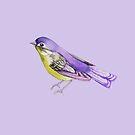 Songbird in Purple by ThistleandFox