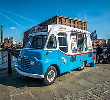 a classic Ice-cream car by akimpressions