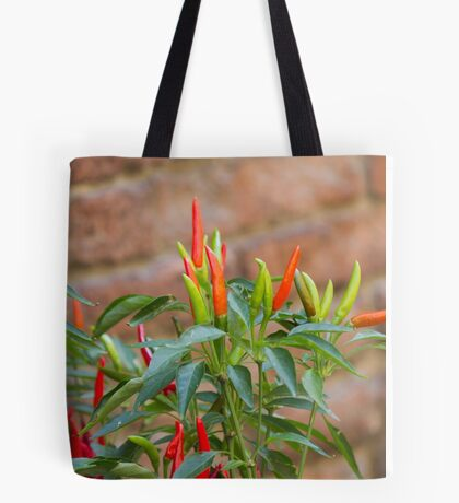 red chili Tote Bag