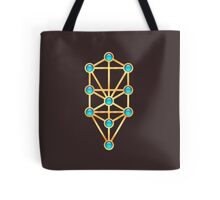 Tree of Life, Kabbalah, Sephiroth Tote Bag