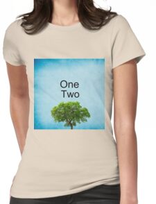 One Two Tree Womens Fitted T-Shirt