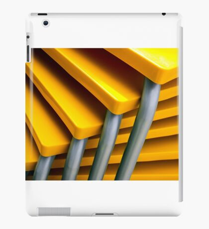 Yellow Tables iPad Case/Skin
