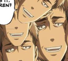 What is it Eren? Jean Kirschtein - Attack on Titan Sticker
