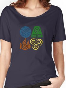 Four Elements Women's Relaxed Fit T-Shirt