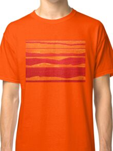 Stacked Landscapes original painting Classic T-Shirt